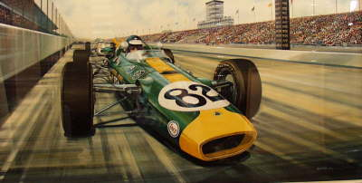 PP-12   JIM CLARK AT INDY